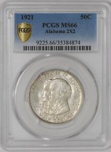 Click now to see the BUY IT NOW Price! 1921 ALABAMA 2X2 50C 35384874 MS66 SECURE PLUS PCGS