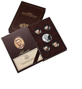 2009  COIN & CHRONICLES SET LN6  ABRAHAM LINCOLN  5 COIN SET  MINT PKG