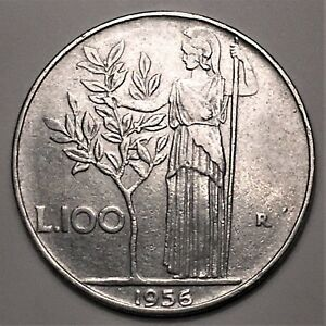 Click now to see the BUY IT NOW Price! 1956 ITALY 100 LIRE