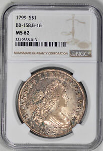 Click now to see the BUY IT NOW Price! 1799 BUST $1 NGC MS 62