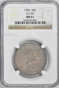 Click now to see the BUY IT NOW Price! 1795 FLOWING HAIR 50C NGC MS 61