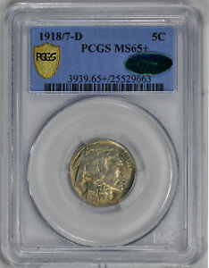 Click now to see the BUY IT NOW Price! 1918 D BUFFALO 5C PCGS MS 65