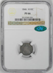 Click now to see the BUY IT NOW Price! 1846 LIBERTY SEATED H10C NGC PR 66