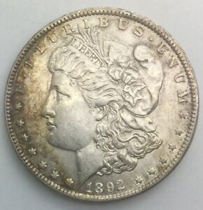 Click now to see the BUY IT NOW Price! 1892 O  MORGAN DOLLAR  NICE LUSTROUS LIGHT WEAR  SEMI KEY DATE