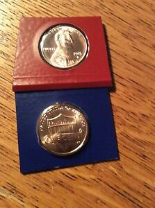 2015 LINCOLN CENT P&D FROM MINT SET