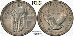 Click now to see the BUY IT NOW Price! 1916 STANDING LIBERTY SILVER QUARTER PCGS AU50 AMAZING COIN JUST GRADED
