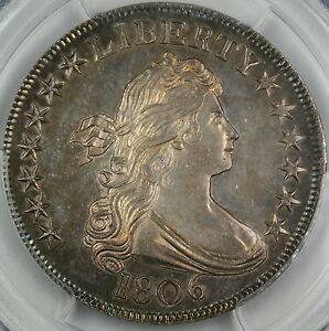 Click now to see the BUY IT NOW Price! 1806 DRAPED BUST HALF DOLLAR COIN PCGS MS 64 GEM O 123 FINEST KNOWN INCREDIBLE