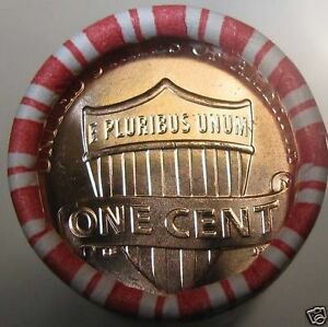 2014 D UNION SHIELD GEM BU LINCOLN CENT PENNY FACTORY SEALED UNOPENED ROLL