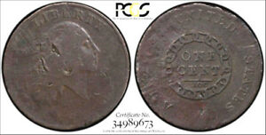 1793 CHAIN AMERICA   PCGS VG DETAIL SECURE   FLOWING HAIR LARGE CENT 1C REPAIRED