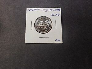 2017 S AMERICA THE BEAUTIFUL QUARTER FREDERICK DOULAS N.D.S..  UNC CONDITION.