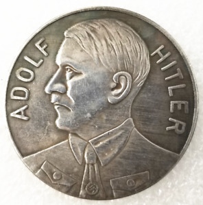 1933 GERMANY LEADER CHARACTER VINTAGE SILVER CURRENCY  COMMEMORATIVE COIN J378