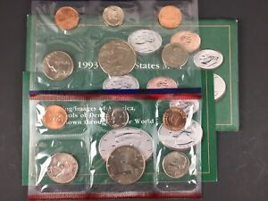 1993 US MINT UNCIRCULATED 10 COIN MINT SET