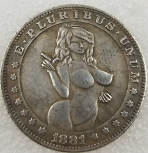 1881 U.S SEXY BEAUTY PATTERN ONE DOLLAR SILVER COLLECTION COIN J401