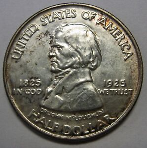 GORGEOUS UNCIRCULATED 1922 FT VANCOUVER COMMEMORATIVE HALF DOLLAR IN CH BU  G645