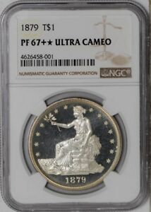 Click now to see the BUY IT NOW Price! 1879 TRADE DOLLAR $ 938521 2 938521 2 PF67   ULTRA CAMEO NGC