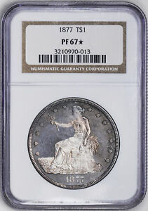 Click now to see the BUY IT NOW Price! 1877 TRADE T$1 NGC PR 67