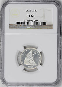 Click now to see the BUY IT NOW Price! 1876 20C NGC PR 65