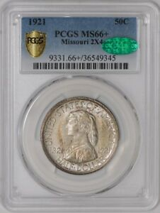 Click now to see the BUY IT NOW Price! 1921 MISSOURI 50C 2X4 938842 67 MS66  SECURE PLUS PCGS   CAC