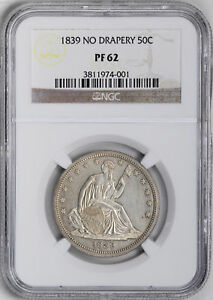 Click now to see the BUY IT NOW Price! 1839 LIBERTY SEATED 50C NGC PR 62
