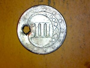 NO DATE LOVE TOKEN SLIVER THREE CENT TYPE  1854 58  99