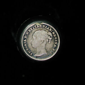 1859 GREAT BRITAIN SILVER PENNY 1 PENCE KM 727 PROOFLIKE 7 920 MINTED MAUNDY MO