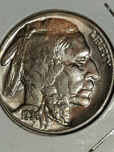 BUFFALO NICKEL LOT 1934 HAIRLINE CRACK ABOVE DATE ERROR COIN 1931 S AND 1926 S