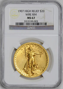 Click now to see the BUY IT NOW Price! 1907 ST. GAUDENS $20 NGC MS 67