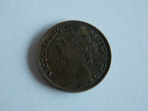 GREAT BRITAIN UK 1879  FARTHING COIN D42