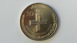 NURSING SERVICE CROSS COMMEMORATIVE 20 CENT AUSSIE 2017 COIN FROM A MINT ROLL