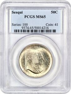 Click now to see the BUY IT NOW Price! 1926 SESQUICENTENNIAL 50C PCGS MS65   SILVER CLASSIC COMMEMORATIVE