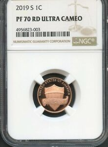 2019 S LINCOLN PENNY NGC PF70 RD ULTRA CAMEO  BROWN LABEL