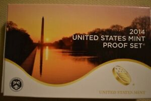 Click now to see the BUY IT NOW Price! 2014 S UNITED STATES MINT PROOF SET W/COA