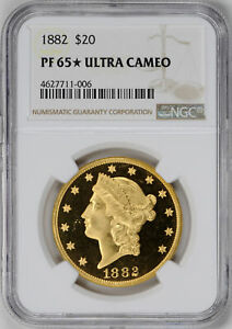 Click now to see the BUY IT NOW Price! 1882 LIBERTY HEAD $20 NGC PR 65 DCAM