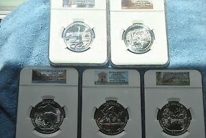 Click now to see the BUY IT NOW Price! 2011 NGC AMERICA THE BEAUTIFUL 5 OUNCE SILVER SET GEM UNCIRCULATED EARLY REL