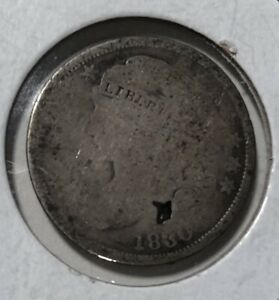 1830 CAPPED BUST DIME. GREAT PRICE