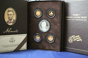 2009 UNITED STATES MINT LINCOLN COIN AND CHRONICLES SET W/ ORIGINAL BOX & COA