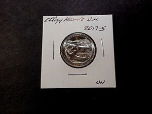 2017 S AMERICA THE BEAUTIFUL QUARTER EFFIGY MOUNDS N.M.  UNC CONDITION.