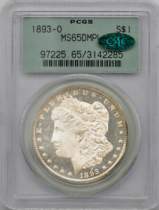 Click now to see the BUY IT NOW Price! 1893 O MORGAN S$1 PCGS MS 65 DMPL