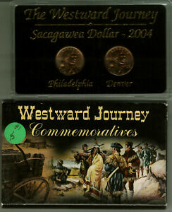 2004 WESTWARD JOURNEY NATIVE AMERICAN DOLLAR MINT SET