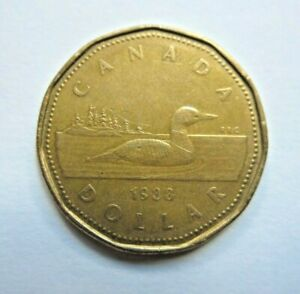 CANADA 1988 ONE DOLLAR COIN