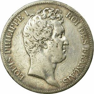 [496511] MNZE FRANKREICH LOUIS PHILIPPE 5 FRANCS 1831 LYON S  SILBER
