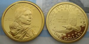 2005 S CAMEO PROOF NATIVE AMERICAN DOLLAR   ONE LIKE THOSE SHOWN