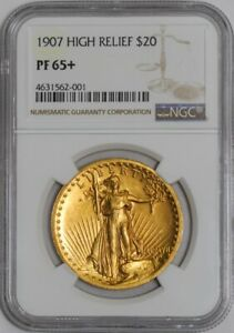 Click now to see the BUY IT NOW Price! 1907 $20 HIGH RELIEF 938654 1 PF65  NGC