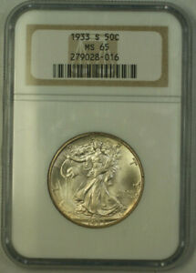 Click now to see the BUY IT NOW Price! 1933 S WALKING LIBERTY HALF DOLLAR 50C SILVER COIN NGC MS 65 JAB