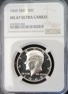 Click now to see the BUY IT NOW Price! 1965 SMS KENNEDY MS67ULTRACAMEO   FROSTY SP67DEEPCAMEO     002