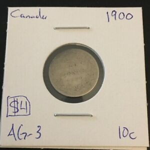 1900 10 CENT CANADA     COIN 815