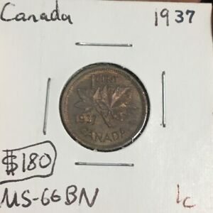 1937 George VI Small Cent Mintage, Photos, Specifications