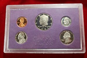 1987 S CLAD 5  COIN PROOF SET  NO PACKAGE OR COA