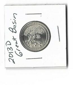2013 D GREAT BASIN QUARTER NATIONAL PARK  NEVADA  UNCIRCULATED