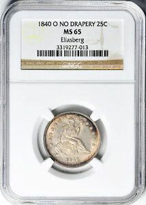 Click now to see the BUY IT NOW Price! 1840 O LIBERTY SEATED 25C NGC MS 65